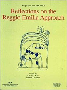 "cover of ""Reflections on the Reggio Emilia Approach"""