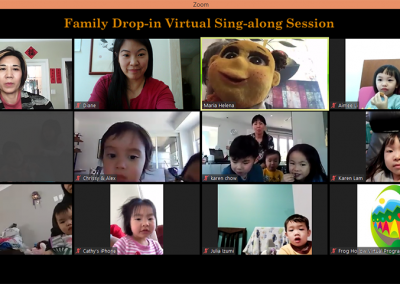 Family Drop-in Virtual Singalong Session