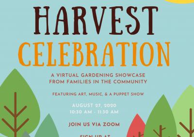 Harvest Celebration Poster