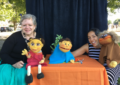 Harvest-celebration-the -puppet-show-Maria Helena - Ana Lorena