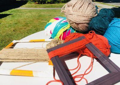 Loom Weaving Indigenous Garden Art Workshop
