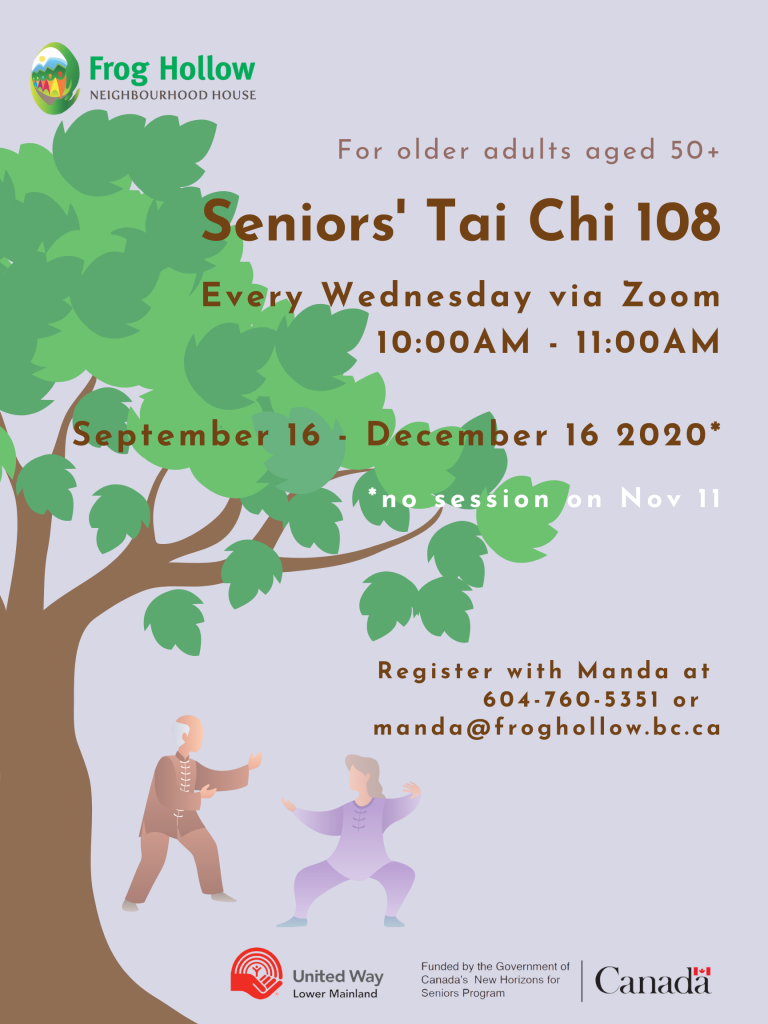 Seniors' Tai Chi 108