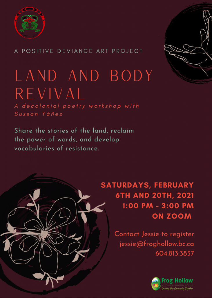 Land and Body Revival @ Via Zoom only