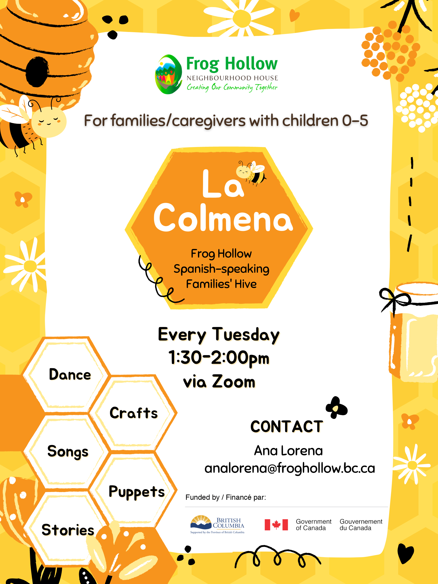 La-Colmena-Spanish-speaking-families-drop-in-program-gathering