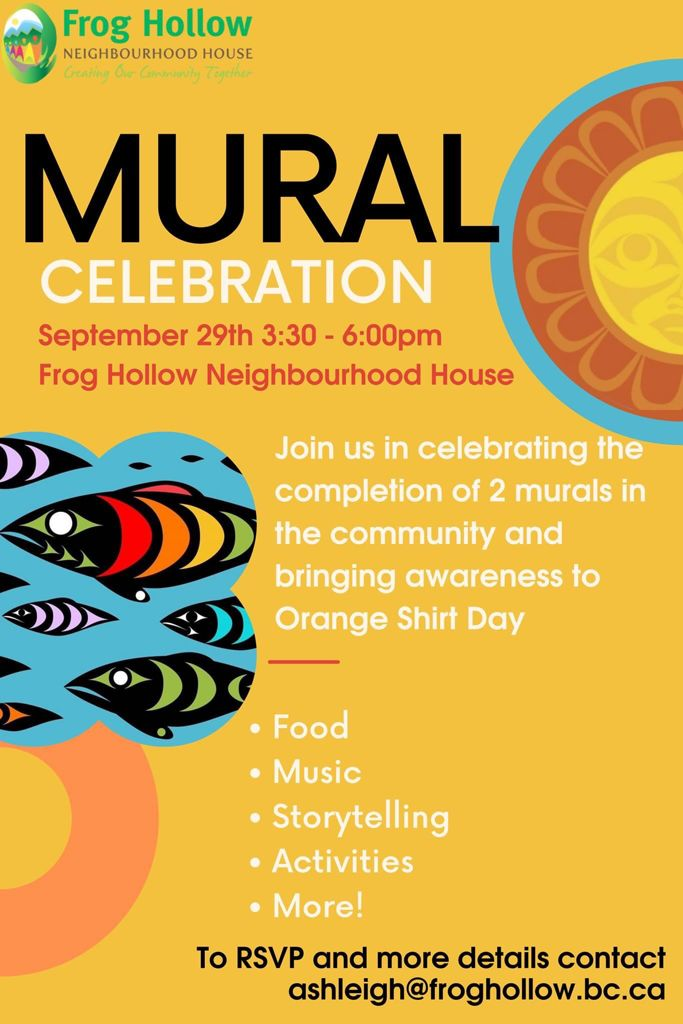 frog-hollow-mural-celebration-orange-shirt-day-2021-sept29